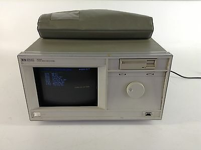 Hp Agilent 16500a Mainframe Logic Analyzer W Hp 16510b