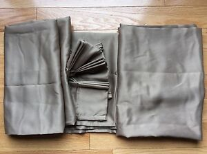 Set of Curtains/drapes