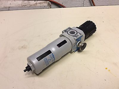Festo Pneumatic Filter / Regulator, LFR-D-5M-MIDI, Used, Warranty