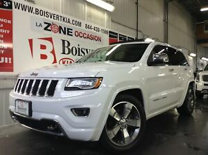 2016 Jeep Grand Cherokee ECO/DIESEL OVERLAND GPS TOIT ATTACHE RE