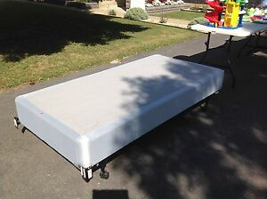Twin Size Box Spring and Bed Frame