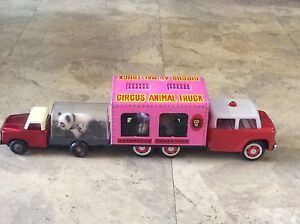 Lion truck and Mother and baby panda truck bulk lot Kew Boroondara Area Preview