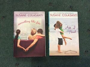 2x Teen Hardcovers - Susanne Colasanti Holden Hill Tea Tree Gully Area Preview