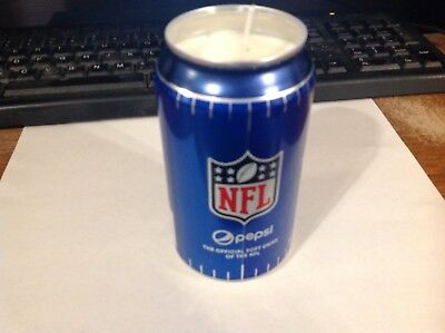 - Pepsi Handmade Candle - Soy Candle - Essential Oil Lemon Scent - NFL