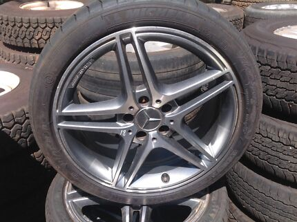 Mercedes C63 Alloy Wheels & Tyres High Wycombe Kalamunda Area Preview