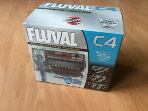 Unused Fluval C4 Aquarium Power filter