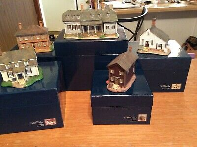 Town Hall Williamsburg Set Of Five In Boxes George Wythe House, Nicolson (Williamsburg Stores)