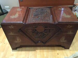 Antique vintage camphor trunk or chest Bassendean Bassendean Area Preview