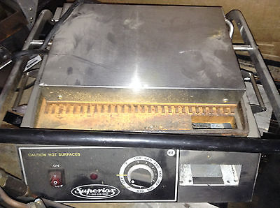 Commercial Superior Press And Grill Panini Makersandwhich Grill