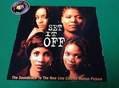 Set It Off Movie Queen Latifah OST Promo Poster Flat 12x12 Piranha Records