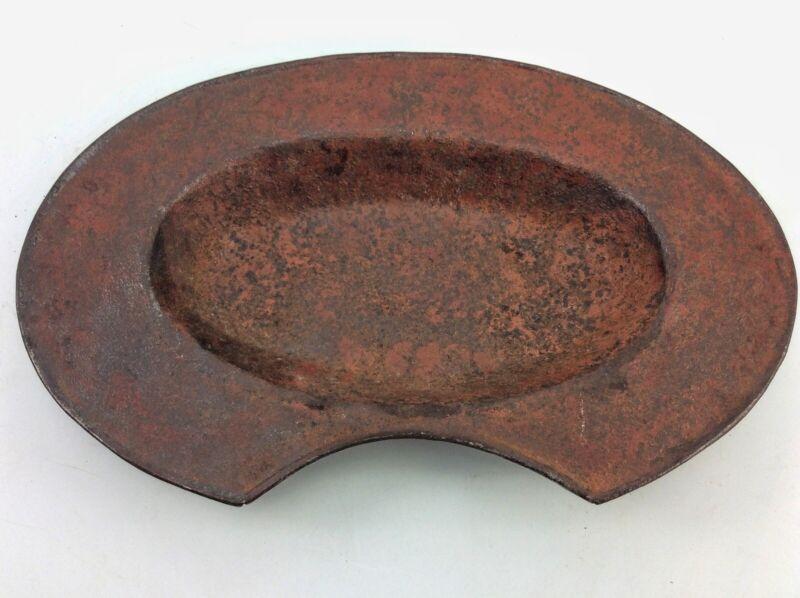 Antique 19th century tin Blood Letting Bleeding Bowl Surgeon Doctors Tool