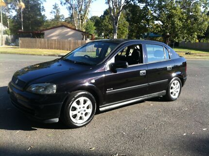 2004 Holden Astra Hatch RWC + Rego! Bethania Logan Area Preview