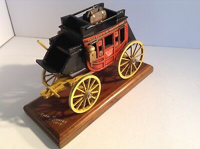 Wells Fargo Model stage coach 1978 Oscar M Cortes for sale by the Original owner