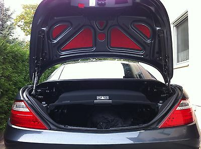 NUR SLK R 172 & SLC Mercedes Kofferraum Deckel Einlagen  Verkleidung  Heckklappe