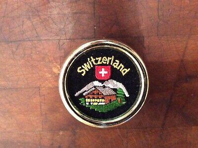 "Bucherer ""Switzerland"" music box plays Edelweiss"