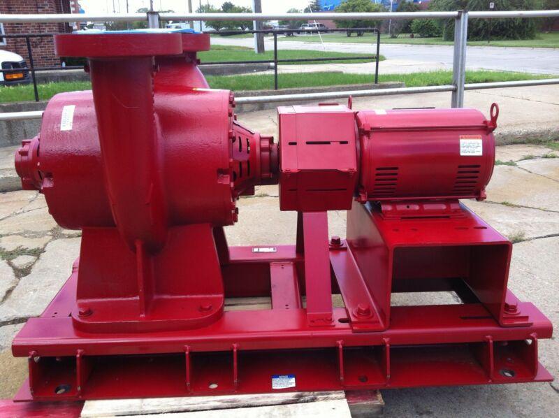 BELL & GOSSETT VSX-VSC Centrifugal Pump 10HP 8.5 4x6x10.5B RHR