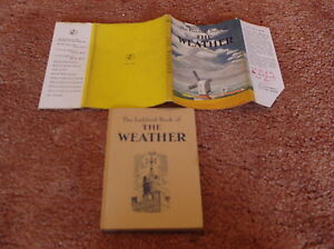 Vintage The Ladybird Book of the Weather Series 536 First Edition 1962