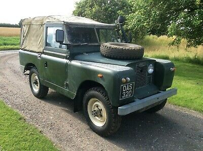 "Land Rover Series 2 SWB 88"" Diesel for restoration first reg. 19-7-61 with V5C"
