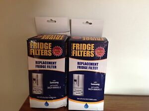 Fridge Water Filters x 2 Acton Park Clarence Area Preview