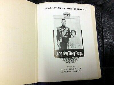 London Album 1937 British Coronation King George VI Complete Set 202 Stamps 19B