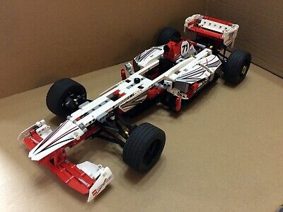 Lego Technic 42000 Grand Prix Racer With Power Functions, 100% Comp Box Instruct