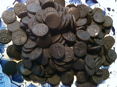 Dutch Licorice Munten drop K & H - Black coins BIG 1 Kg bag