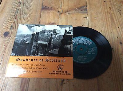 will starr-souvenir of scotland-parlophone e.p.mint