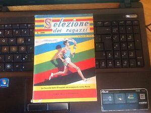 LIBRO-SELEZIONE-DEI-RAGAZZI-1960-la-fiaccola-della-Olimpiadi-verso-Roma
