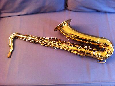 Vintage Conn PanAmerican Tenor Saxophon, Saxofon in schönem Zustand ca.1955