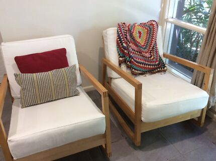 IKEA Lillberg Rocking Chair x 2 Avalon Pittwater Area Preview