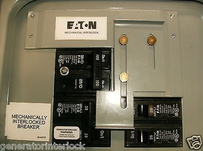 Fac-br100c Cutler Hammer Challenger Generator Interlock Kit 100 Amp Br Panel