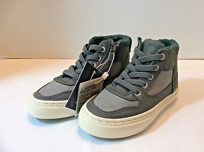 New Zara Kids Boys Collection Shoes High Top Sneaker US 7.5/8