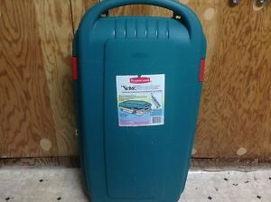 Rubbermaid Storage Container on wheels