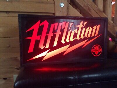 Affliction Lighted Store Sign