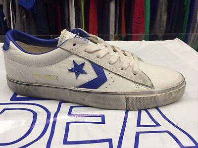 Converse sneakers pro leather vulcano ox pelle scamosciata