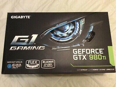 GIGABYTE NVIDIA GeForce GTX 980 Ti Gaming 6GB Graphics Card