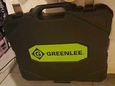 Greenlee Gator Battery Powered In-line Cutter Blow Mold Case