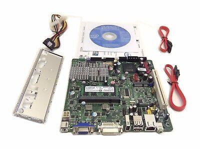 New Intel D945GSEJT ATOM Tinker mini-ITX Motherboard N270 2GB RAM IO shield