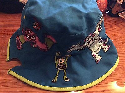 Disney Pixar Monsters Inc. youth sun bucket hat. new with tags! Mike Sully Art](Monsters Inc Hat)