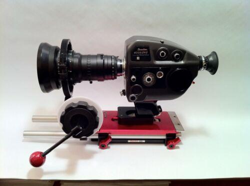 Beaulieu 4008 ZM II 24fps Sync 16x9 Gate Super 8 camera + Schneider 1.8 UNIQUE!