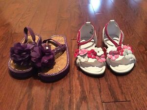 Girl Sandals - size 9 - see all pictures  London Ontario image 2