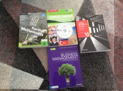 Textbooks for Year 12