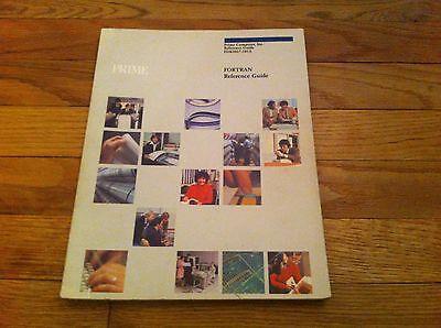 Руководство Vintage 1980 Prime Computer Reference