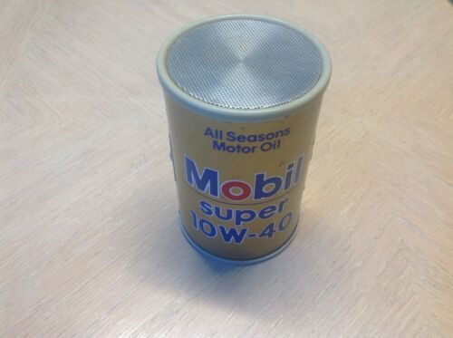 MOBIL 10W-40 Motor oil AM radio collectible GAS service STATION Pegasus MOBILOIL