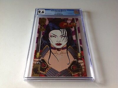 SHI THE WAY OF THE WARRIOR 1 CGC 9.6 WHITE PAGES GOLD FAN EDITION CRUSADE COMICS