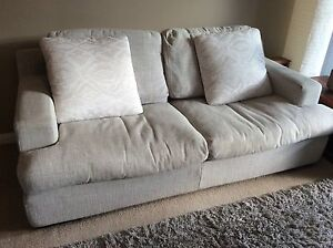 Sofa 2.5 seater St Leonards Willoughby Area Preview