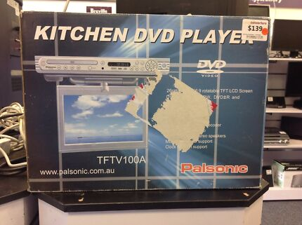 Palsonic TFTV100A kitchen DVD player #03803 Midland Swan Area Preview