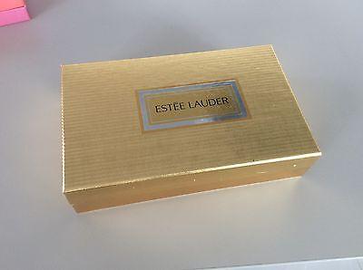 😜 Rarität Estée Lauder reines Parfüm Sammler Edition Chrome Herz NOS verp. 1985