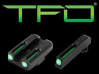 New Truglo TFO™ Tritium/Fiber-Optic Day/Night Sights Glock 42/43 Set TG131GT1A