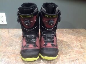 Ride snowboard boots sz9